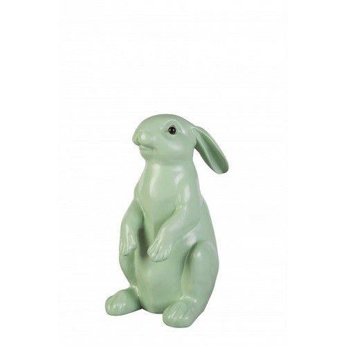 Leuke spaarpot in de vorm van een konijn, het spaarkonijn van Kitchen Trend Products.  Leuk om te combineren met de spaarteckel