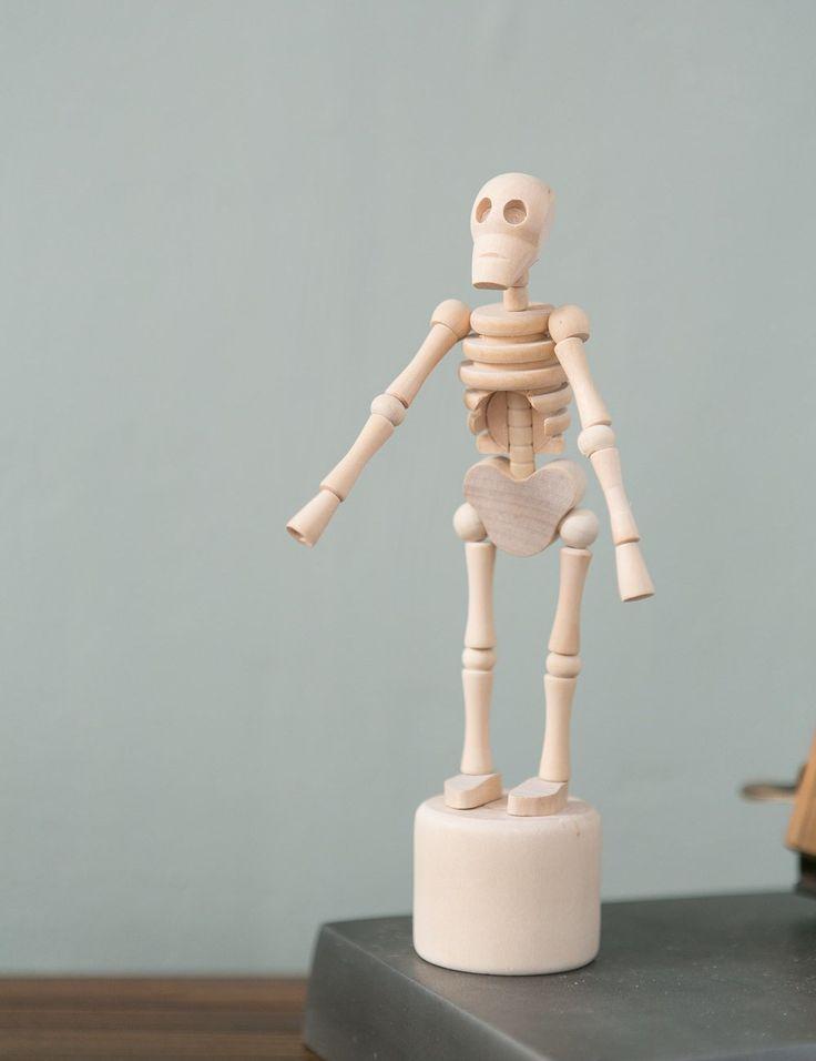 Lazy Bones Skeleton at Rose and Grey