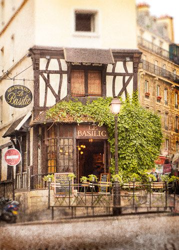 Le Basilic of Montmartre Paris France 8x12 by TheWallPhotography
