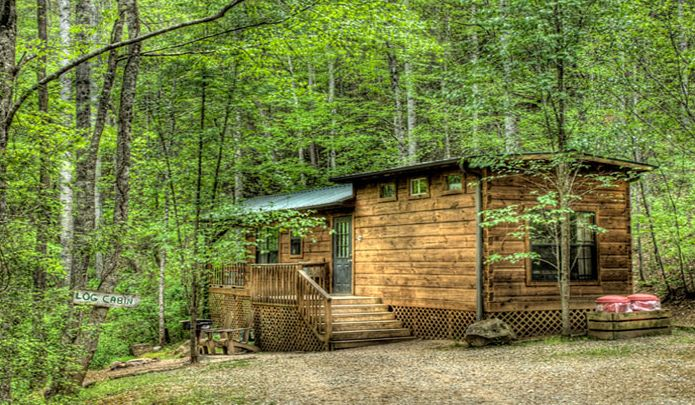 22 best cabins for rent images on pinterest bryson city for Fishing cabins in nc