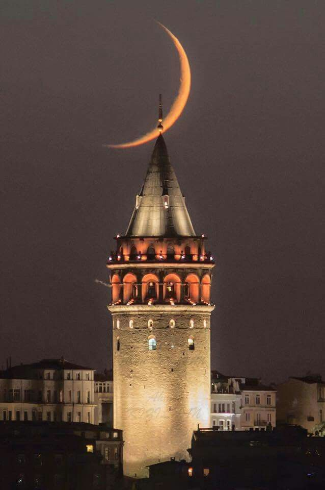 Travel turkey galata tower istanbul