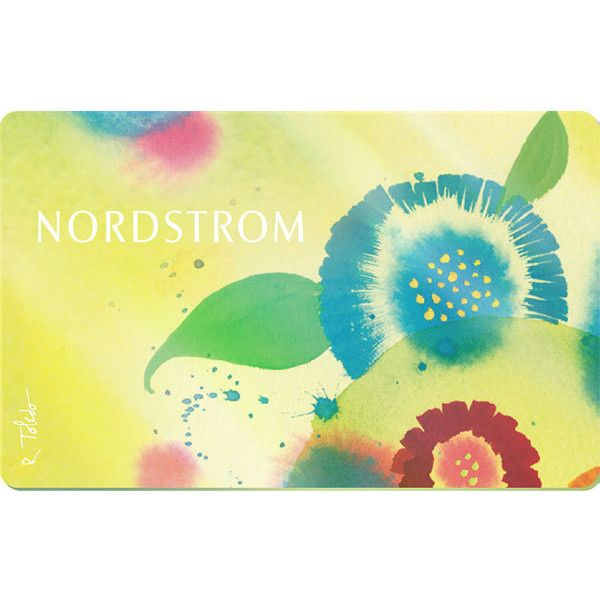 Nordstrom Classic Virtual Gift Card Mother's Day Flowers $75 (160 BRL) ❤ liked on Polyvore featuring gift and gift/operational