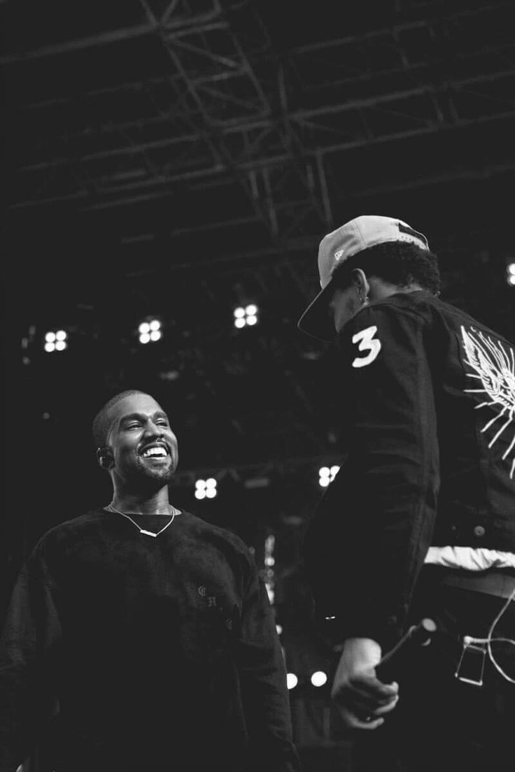Kanye and Chance The Rapper