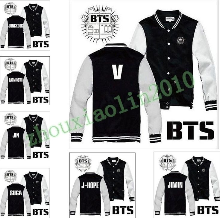 Kpop BTS Bangtan Boys Team Fashion Buttons hoodies Warm Fashion sweater Jacket in Clothing, Shoes & Accessories, Men's Clothing, Coats & Jackets | eBay