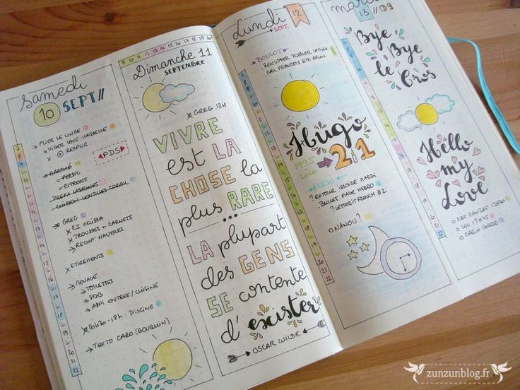 daily journal planner