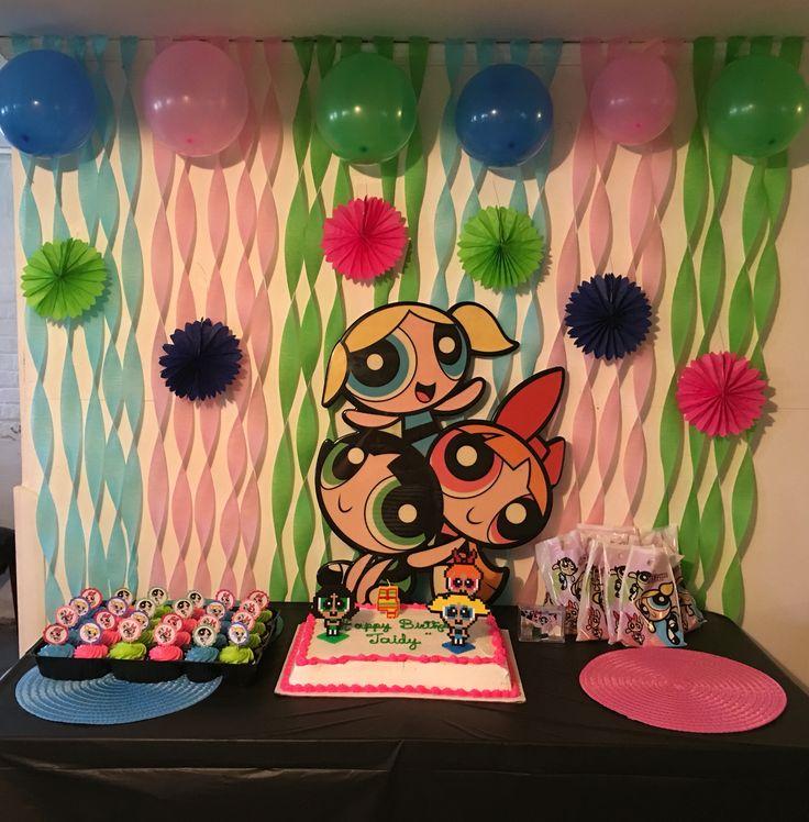 Powerpuff girls birthday party!