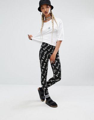 Леггинсы с графическим принтом adidas Originals X Pharrell Williams