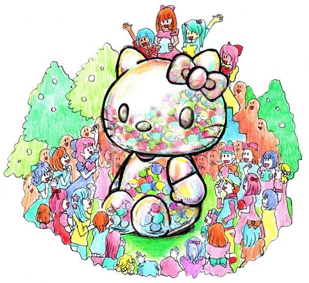 """""""kawaii""""を集めて世界を変える!? 増田セバスチャンさんアートで『ハローキティ』がタイムカプセルに"""