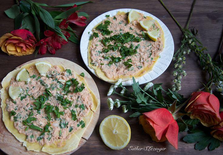 Диетическая пицца по-турецки - лахмаджун | Рецепты правильного питания - Эстер Слезингер