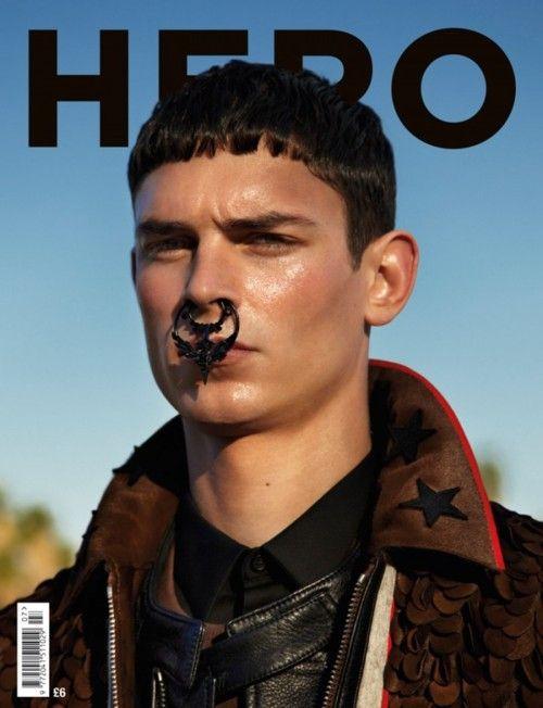 sepulcre:    Arthur Gosse by Fabien Kruszelnicki for Hero Magazine
