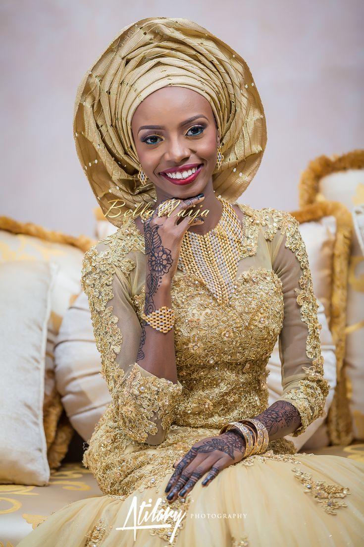 Farida Salisu Yusha U Abubakar Sani Aminu Hausa Muslim Nigerian Wedding Atilary