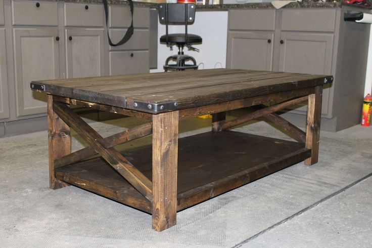 Rustic x table rustic table industrial and barnwood for Table design odessa fl