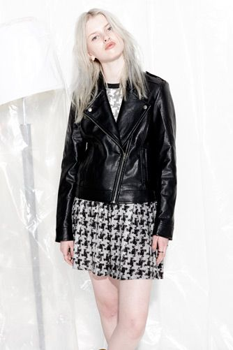 EVIL TWIN 'Night Shade Biker Jacket' & 'Nail Biter Skater Skirt'