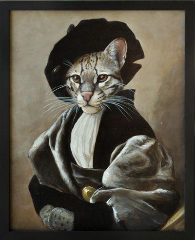 Melinda Copper  ~  (original painting, Baldassare Castiglione by Raphael)