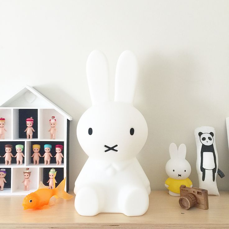 Miffy lamp love! available at alfiewild.com #miffy #miffylamp