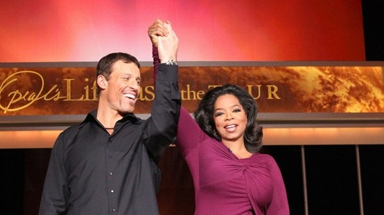 Tony Robbins and Oprah on Living Fearlessly - Lifeclass