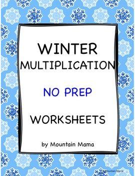 40 Math Multiplication Worksheets