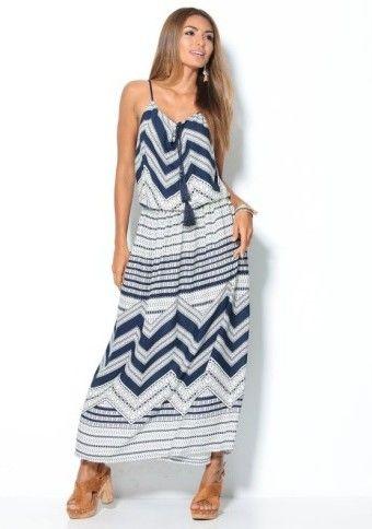 Dlouhé šaty s potiskem #ModinoCZ #dress #longdress #oversize #fashion #spanishfashion #czech