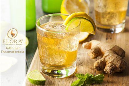 Scopri quali sono gli ingredienti necessari per creare la birra analcolica aromatizzata all'olio essenziale di zenzero BIO!