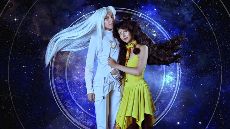 Source - Sailor Moon Character - Artemis, Luna Cosplayers - Ash , Nihon  Photographer - Photo Stark  Kosbend - TooRed  http://worldcosplay.net/member/69372