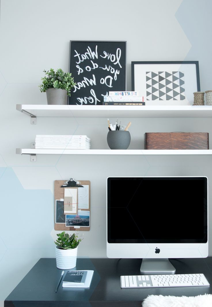 Appealing Desk Shelf Ideas The Best Ideas To Shelves Over Write Simple Work Desk Desk Shelves Desk Decor