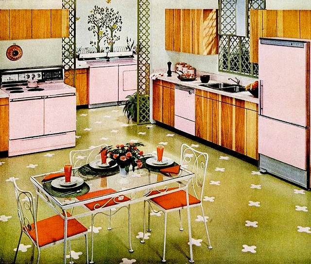 263 Best Vintage Kitchen Images On Pinterest