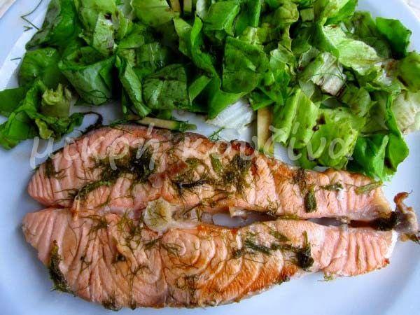 μικρή κουζίνα: Σολομός με μάραθο και ούζο