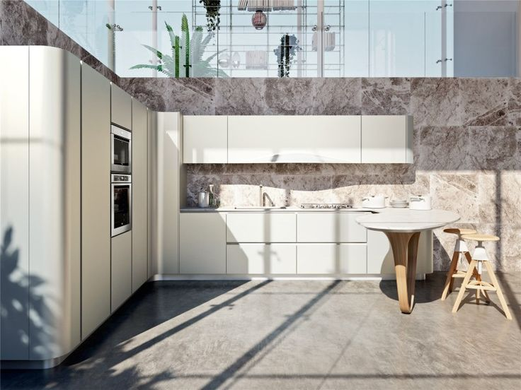 Detail Of Kitchens With Peninsula Snaidero   Ola 20   Photo 1