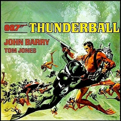 """""""Thunderball"""" (1965, United Artists). Music from the movie"""