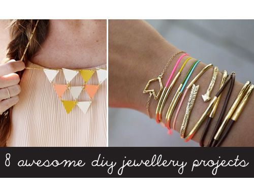8 Awesome DIY Jewellery Projects