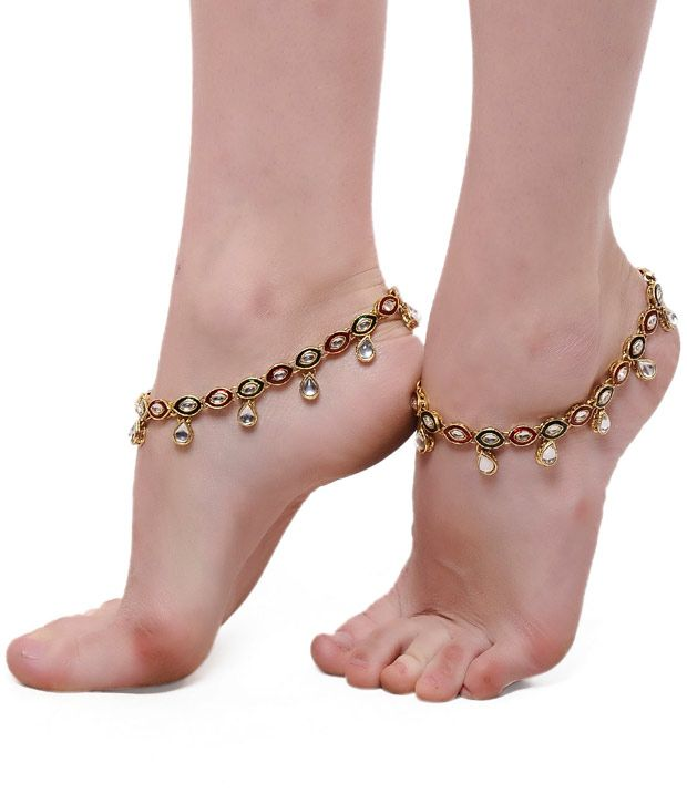 ShinningDiva Pair Of Ethnic Kundan Drop Anklets, http://www.snapdeal.com/product/shinningdiva-pair-of-ethnic-kundan/1467233