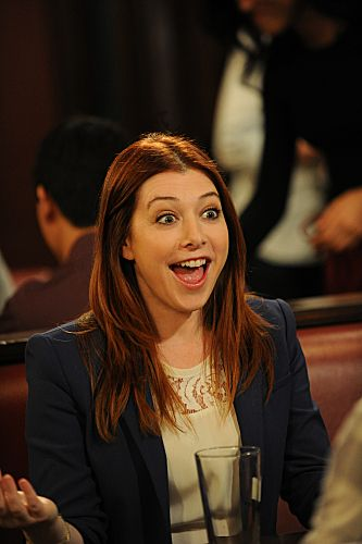 Alyson Hannigan stars as Lily Aldrin, on HOW I MET YOUR MOTHER