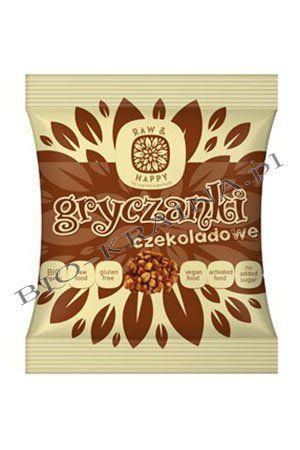 Gryczanki czekoladowe 40g 42⁰Raw&Happy