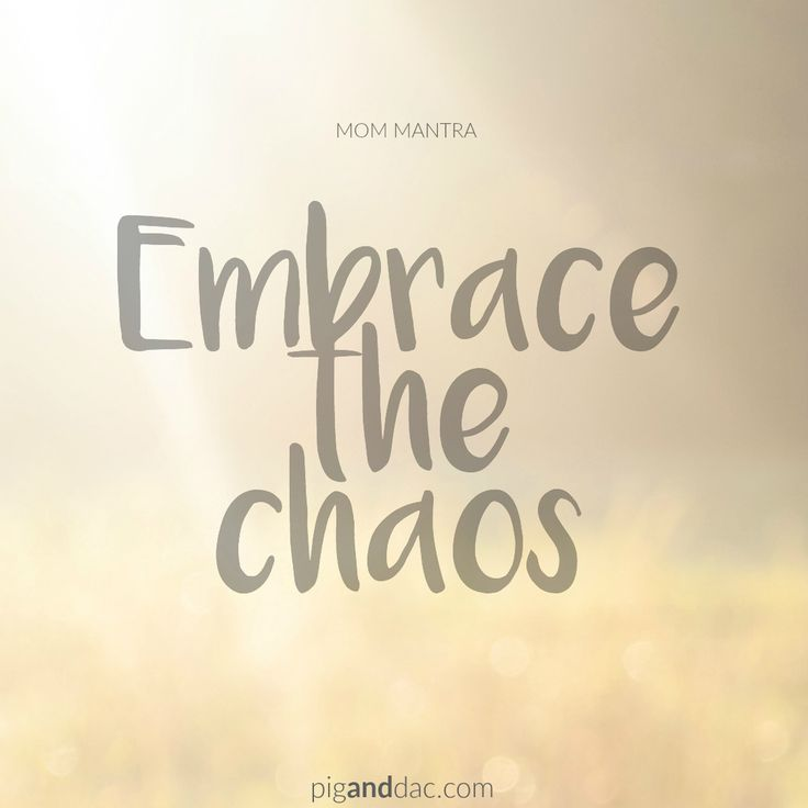 7 tips for managing your internal chaos as a mom.
