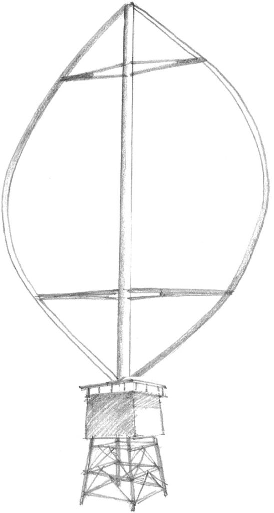 The Darrieus wind turbine is a type of Vertical Axis Wind Turbine patented by George Jean Marie Darrieus, a French aeronautical engineering in 1931.