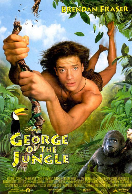 George Of The Jungle Movie Poster - Film inspired by the jungle (impawards, 2002)