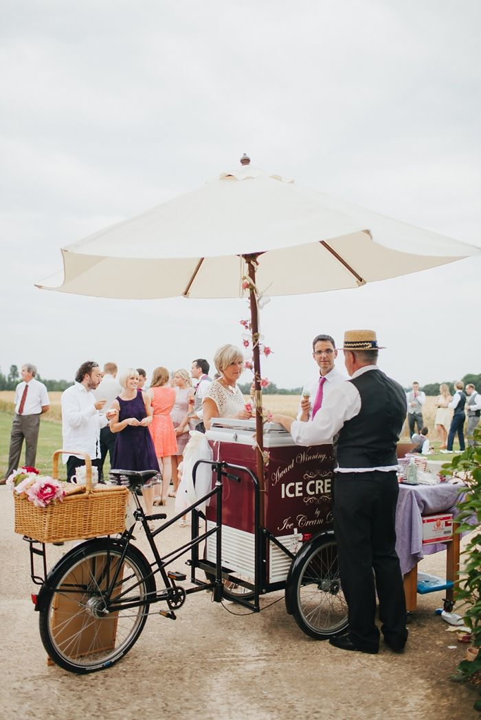 ice cream bicycle wedding | Rickety Barn Bassmead Manors Wedding photos | Vanessa Adams. Photography with heart