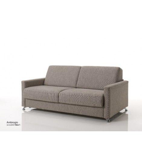 divano letto con materasso alto 17 cm Ambrogio Vitarelax