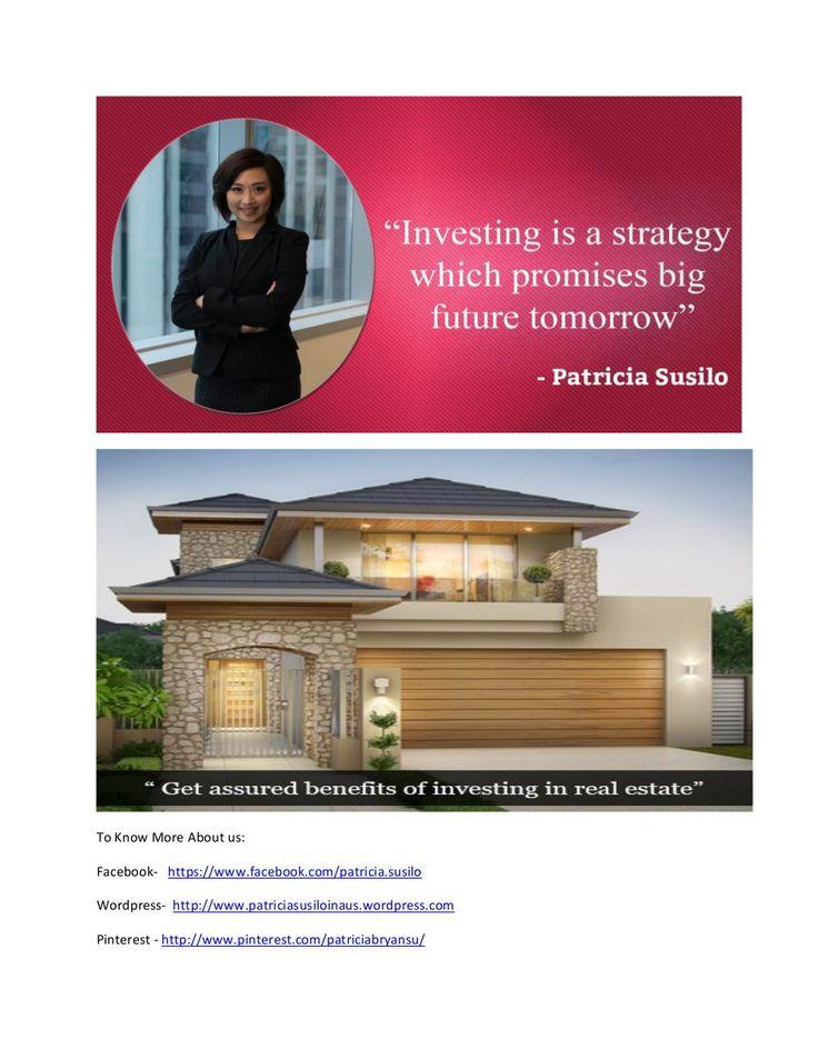 Patricia susilo easy housing estate agent by patricia00007 via slideshare