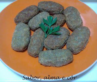 sabor, alma e côr: Croquetes de lentilhas, aveia e espelta com arroz ...