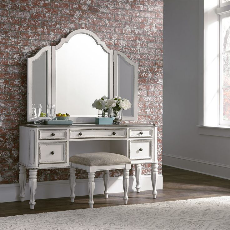 Bedroom vanity from Liberty Furniture. Part of the