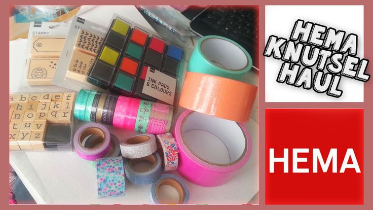 Shop Haul Hema Leuke Washi Tape Collective Haul!! ^-^