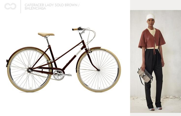 Caferacer lady solo brown / Balenciaga