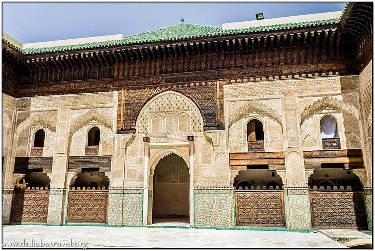 Фес духовная столица Марокко