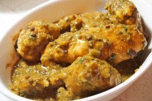 {Chicken Dhansak: Chef Simon Majumdar #chicken #indian #lentils}