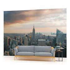 WALL MURAL PHOTO WALLPAPER PICTURE (133PP) New York City Skyline Urban