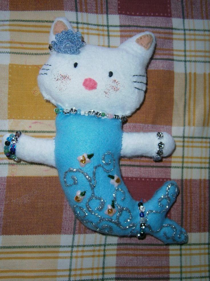 Lia B. Creations: Blue Hello Kitty Mermaid