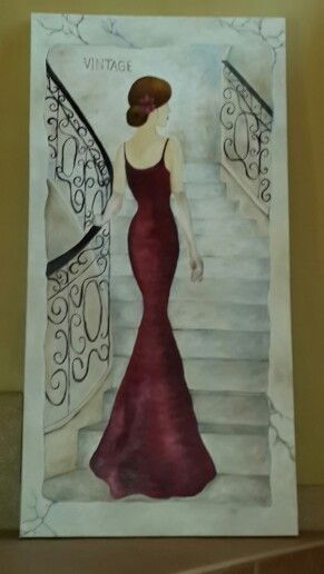 Lady in Red ....Jeanne le Roux