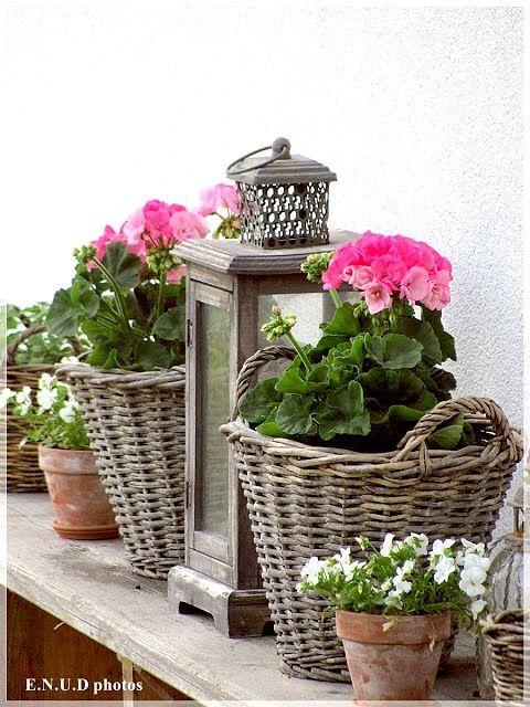 25 melhores ideias de cestas suspensas no pinterest - Cestas decorativas ...