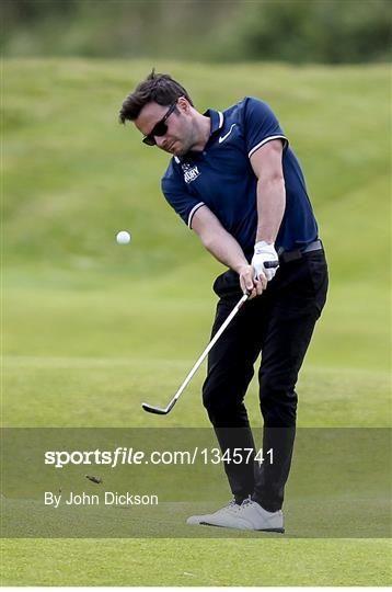 5 July 2017; Shane Filan, Ireland, during the Pro-Am ahead of the Dubai Duty Free Irish Open Golf Championship at Portstewart Golf Club in Portstewart, Co. Derry. Photo by John Dickson/Sportsfile